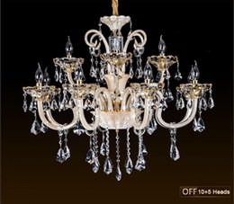 Bedroom Chandeliers Candles Canada - 2016 Top fashion chandeliers candle crystal light for living room dining room bedroom modern indoor lighting light fixtures