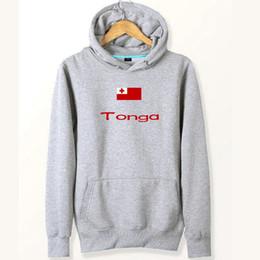 Hoodies Sweat Shirts Australia - Tonga flag hoodies Country banner free city plate sweat shirts Fleece clothing Pullover coat Outdoor cotton jacket Brushed sweatshirts