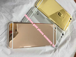 "China 2017 hot sale real gold back for iphone6 4""7 24kt 24ct Limited Edition Golden Back Cover Back Housing for iphone6 suppliers"