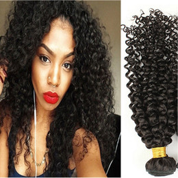 $enCountryForm.capitalKeyWord Canada - Brazilian Kinky Curly Hair Weaves Natural Black 3pcs Human Hair Extensions Brazilian Afro Kinky Curly Hair Weaves Cheap Hair Weaves Curly