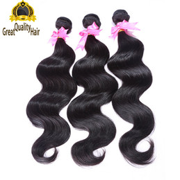 China Freeshipping!! Wholesale Unprocessed 100 Human Hair Extensions Malaysian Indian Peruvian Hair Body Wave Hair Weaves cheap brazilian body wave hair bulk suppliers
