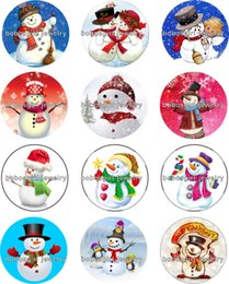 making cubes 2019 - Free shipping snowman christmas Snap button Jewelry Charm Popper for Snap Jewelry good quality 12pcs   lot Gl231 jewelry