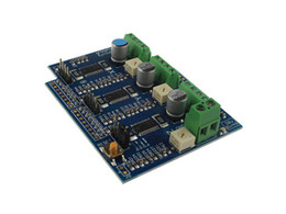 printer board UK - Freeshipping 3d printer 3 stepper motor driver Gshield grblShield board CNC motion control