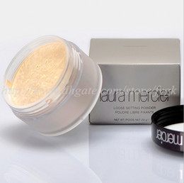 Discount powder wholesale - New Laura Mercier Loose Setting Face Powder Translucent 1oz Full Size 29g in Box Free Shipping