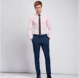 Discount Casual Light Pink Shirt Men | 2017 Casual Light Pink ...