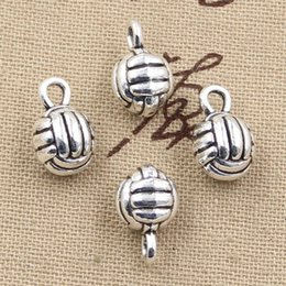 Volleyball bracelet diy canada best selling volleyball bracelet wholesale 99cents 4pcs charms 3d volleyball 10mm antique making pendant fitvintage tibetan silverdiy bracelet necklace mozeypictures Gallery