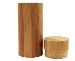 China Retail gift box Vintage style sunglasses box glasses cases wooden case cylinder suppliers