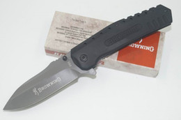Brand New Browning F66 440 Blade 57HRC Survival Outdoor Tactical Knife Tool EDC Gear Camping Knives