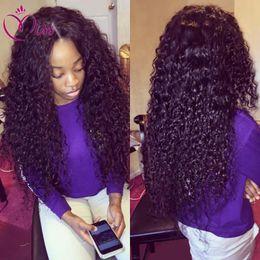 $enCountryForm.capitalKeyWord Australia - 7a hot style deep curly hair brazilian lace front wig with baby hair human hair full lace deep curly wigs for black women