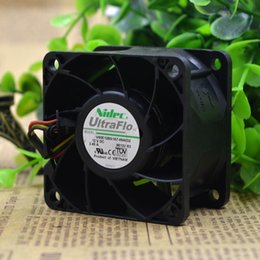 Discount nidec fans - Wholesale- Original Nidec V60E12BS1A7-09A032 12V 2.45A 6CM server Cooling fan cooling fan