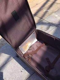 2017 Nuovo modello Fashion Luxury High-Grade Famous Brand Carry-On Bag Barding Bag Rolling Set da donna Unisex Uomo Spinner carrello espandibile
