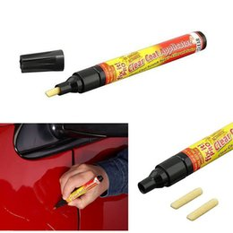 Coating Remover NZ - 2017 Non Toxic Car Clear Coat Applicator Fix It Pro Clear Car Scratch Repair Remover Pen Car-styling cleaning tools