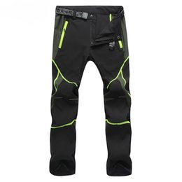 camp pants 2018 - Wholesale-2016 outdoor men quick-drying pants Leisure sports man Hunting pants Mountain climbing pant quick dry waterpro