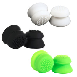 Ps4 analog stick online shopping - Silicone Enhanced Height Increasing Hat Cap Grips Gamepad Replacement Analogue Analog Sticks Thumbstick For PS4 XBOX PS3 Controller