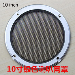 $enCountryForm.capitalKeyWord Canada - Free Shipping(6pcs lot) Colorful 10 inch Red car speaker mesh speaker grill speaker cover woofer mesh,car speaker grilles