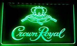 Derby De La Corona Real Baratos-LS018-g Crown Royal Derby Whiskey NR cerveza Bar LED Neon Light Sign.jpg