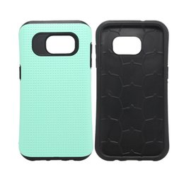 iphone 5s case dots NZ - Hybrid Small Waist Dot TPU + PC Hard Tough Armor Case For iPhone 5S 6 Plus Samsung S5 S6 S7 Edge J1 J2 J7 A3 A5 A7 HTC M8 M9 LG G3 Moto G2