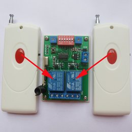 Time delay locks online shopping - 2x Large Power keyfob x Wireless delay controller M RF Time Relay Switch Momentary Self locking Latch Independent settings