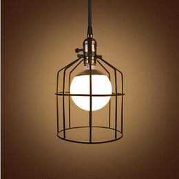 Wrought iron hanging lights nz buy new wrought iron hanging lights classical vintage wrought iron pendant light for bar cafe restaurant retro loft birdcage industrial pendant lights hanging lamps aloadofball Image collections