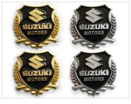 Swift Accessories Canada - car styling case for Suzuki grand vitara sx4 swift jimny metal Badge sticker modified standard column car accessories