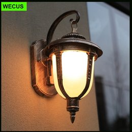retro outdoor wall lamp fishing lamp waterproof balcony bedroom villa corridor aisle garden vintage wall lighting fixtures wcsowl008