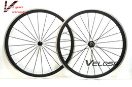 $enCountryForm.capitalKeyWord Canada - 38mm clincher Alloy braking surface carbon wheels road bike wheelset carbon rim with alloy brake track, free shipping