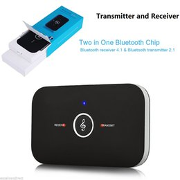 Wholesale Bluetooth Audio Adapter Wireless Bluetooth Transmitter and Receiver In mm Car Kit for TV Home Stereo System Speaker OTH125