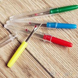 $enCountryForm.capitalKeyWord NZ - 4Pcs Plastic Handle Craft Thread Cutter Seam Ripper Stitch Unpicker Sewing Tool 2MV6