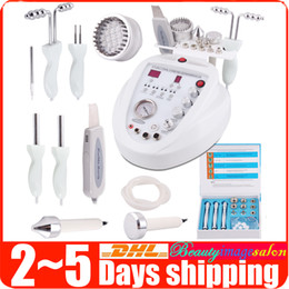 Machine À Microdermabrasion Au Diamant 5in1 Pas Cher-Hot Sale 5in1 Diamond Microdermabrasion Dermabrasion Photon Skin Scrubber BIO Micro-courant Facial Care Anti-âge Beauty Machine