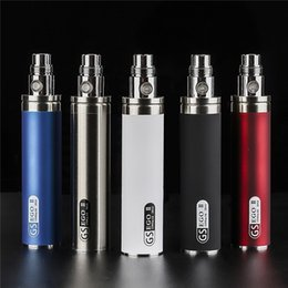 Ems packagEs online shopping - Original GreenSound GS EGO II Battery mAh Huge Capacity Colors Single Package Vape Pen DHL EMS