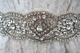 $enCountryForm.capitalKeyWord Canada - Diamond Belt Pure Manual Bride Belts Belt Wedding Dresses Crystal Rhinestone Pearl Bridal Sash Ivory Crystal Sash Bridal Sash Wedding Belt