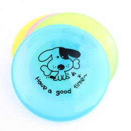 Disc Toys Canada - Dog Frisbee Flying Discs Sports Frisbee UFO Shape Diameter 20CM Tomtop Multiple Colors Pink Blue Yellow Green Pet Toys Gift