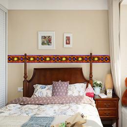 $enCountryForm.capitalKeyWord Canada - 10x1000cm Retro pattern wall stickers For Tile kitchen bathroom living room bedroom decals self-adhesive home decor