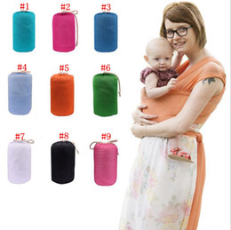 BaBy sling stretchy wrap carrier online shopping - Newborn Breastfeed Gear Sling Baby Stretchy Wrap Carrier Infant Strollers Gallus Kids Breastfeeding Sling Hipseat Backpacks OOA2635