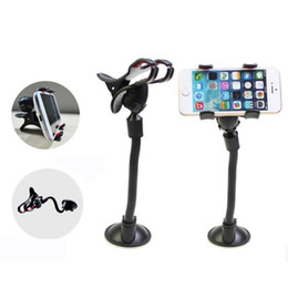 Clamp Cup Holders Canada - [UPDATE VERSION] Car Mount,Long Arm Universal Windshield Dashboard Cell Phone Car Holder with Strong Suction Cup and X Clamp for iPhone 6 6s