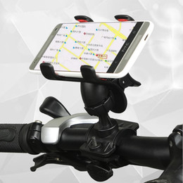 Wholesale handlebar clamp mount universal cell phone holders phone stand holders for bicycle mountain Bike adjust suit for iphone7