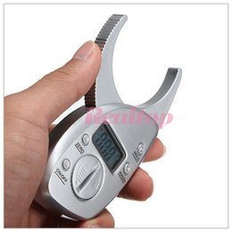 1 Set mini balance de poids corporelle portable numérique Fat Caliper corps testeur de graisse testeur de graisse de corps