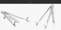 Stand Holder Support For Tablets Canada - metal Foldable Mobile Phone Holder Stand Universal for Tablet and Smartphone Mount Support for iPhone iPad