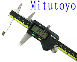 Calibri a corsoio digitali mitutoyo 0-150mm Precisione pinza digitale 0.01mm Calibri Digimatic Misuratori Tester 500-196 in Offerta