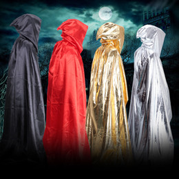 $enCountryForm.capitalKeyWord Canada - Anime Cosplay Clothes Halloween Costume Theater Prop Death Hoody Cloak Devil Long Tippet Adult Cape Wizards Cloak