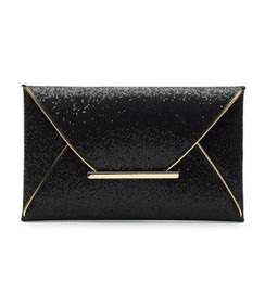 black evening clutch Canada - Womens Sequins Envelope Bag Evening Party Purse Clutch Handbag Black Gold Messenger Bags Luxury Purse Clutch Handbag 3 Colors gift