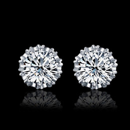 Earrings For Ears Canada - 2016 Jewelry Earrings for Women Wedding Earings crystal earing ear ring piercing ear jacket stud studs clips fashion accessories wholesale