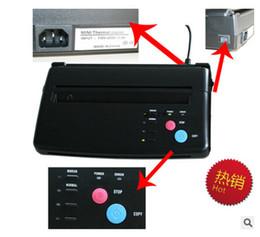Atacado-menor preço de transferência de papel A4 preto Tattoo copiadora cópia estêncil térmica máquina de transferência em Promoção