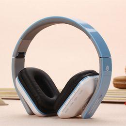 Wireless B Headphones Canada - B-02 Original Wireless Bluetooth Stereo Headphone Foldable Headset with Mic TF Card FM Radio Earphone MP3 Player for Smartphone