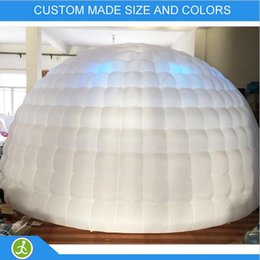 $enCountryForm.capitalKeyWord Australia - portable outdoor inflatable dome tent with led outdoor winter party tent outdoor party tent