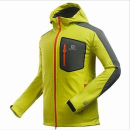 Soft ShellS jacketS online shopping - Fall New Men s Windproof Waterproof Breathable Softshell Fleece Jackets Men s Winter Stretch Soft Shell Anti Life Jackets