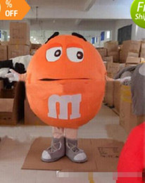 discount factory direct halloween props free shippingyellow mm chocolate candy mascot costume halloween prop - Discount Halloween Props