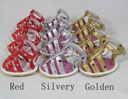 $enCountryForm.capitalKeyWord Canada - 10sets lot Cheap Pet Large Dog Sandals Shoes PVC+Rubber Sole Material Gold Red Siliver Color Sandals For Pets Hot Sale