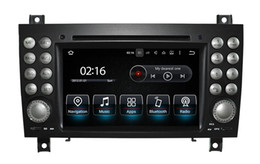 mercedes benz car radio Canada - Android 9.0 8-CORE Car Radio GPS For Mercedes-Benz SLK200 SLK280 SLK 350 SLK55 Car DVD Player (2004-2012) Stereo, WiFi 3G,Mirror link