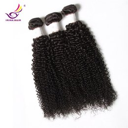 China 20% Off 2017 new arrival Dyeable Peruvian Malaysian Brazilian Virgin Hair afro kinky curly 5 Bundles  lot Human Hair Weft free shipping supplier afro kinky human hair suppliers